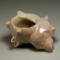 Hagi Senryuzan climbing kiln Japanese pottery Futaoki tea ceremony turban shell