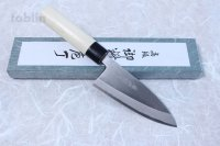 Japanese Tojiro Shirogami white steel Deba knife any size