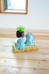Shigaraki wabe Japanese pottery Tanuki Cute small Raccoon Dog set of 2 any color