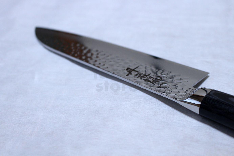 ryusen hamono tanganryu vg 10 forging damascus knife mirror finish