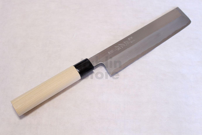 Japanese vegetable knife - Masahiro Bessen Japanese Steel Fire Welding Hammering Artifact Nakiri Vegetable Knife
