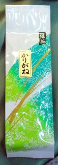 Photo4: High class Japanese green tea Taiko Karigane stem tea cha in Shizuoka 100g (4)