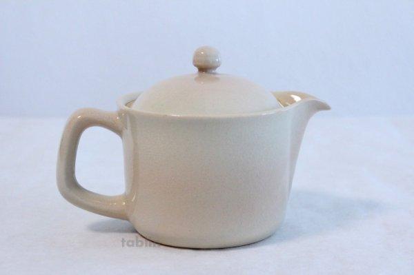 Photo3: Hagi yaki ware Japanese tea pot Himetuti with stainless tea strainer 280ml