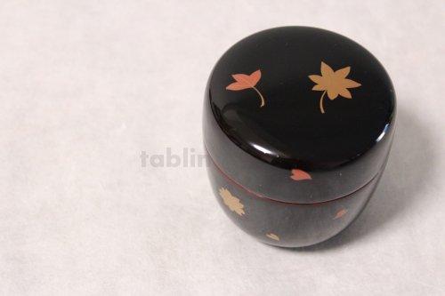 Other Images2: Tea Caddy Japanese Natsume Echizen Urushi lacquer Matcha container sakura momiji