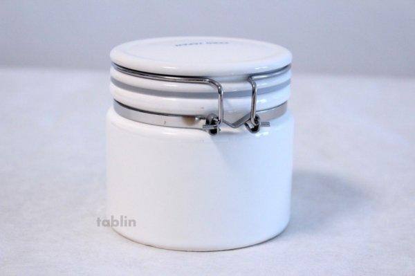 Photo2: Tea Caddy Japanese tea container ZERO JAPAN ceramics 50g white