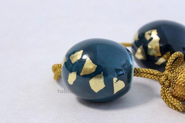 Photo4: Weight for Japanese hanging scroll FUCHIN stone Kutani porcelain green glaze