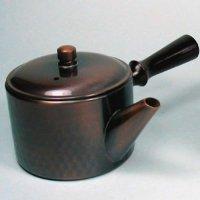 Pure Copper Japanese tea pot Kyusu Yokote 240ml