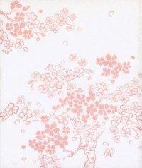 JAPANESE TEA CEREMONY KAISHI paper Sakura Cherry blossoms printed 30 sheets