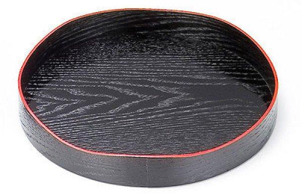 Photo5: Japanese tea ceremony Yamamichi-bon lacquered wood tray