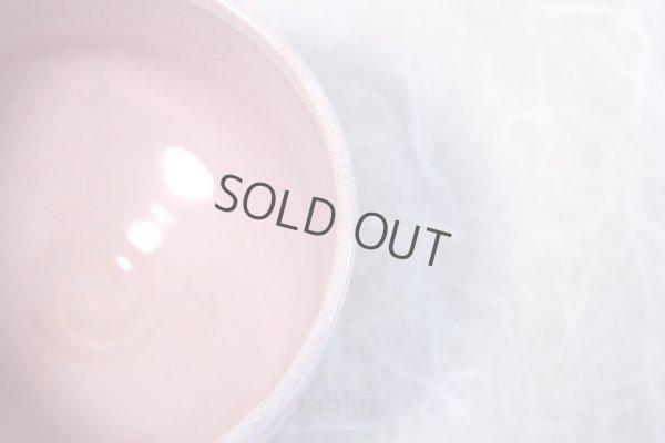 Photo5: Kiyomizu Kyoto porcelain Japanese matcha tea bowl chawan Rinzan pink