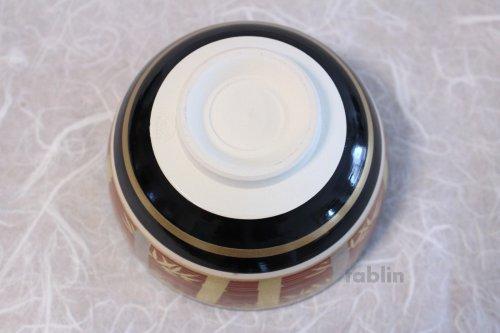 Other Images1: Kiyomizu gold silver bamboo ninsei Jyuraku Japanese matcha tea bowl chawan