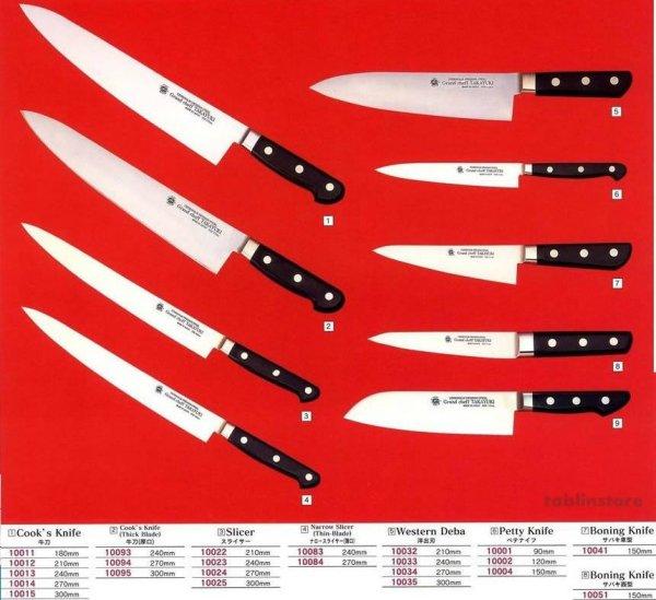 Photo1: SAKAI TAKAYUKI Japanese knife Grand Chef Western Deba,Petty,Boning,Santoku