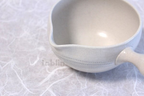 Photo4: Tokoname yaki ware Japanese Yusamashi tea tool for Sencha white ten 260ml