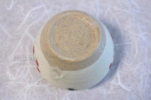 Other Images3: Shigaraki pottery Japanese matcha tea bowl chawan ippuku red akae