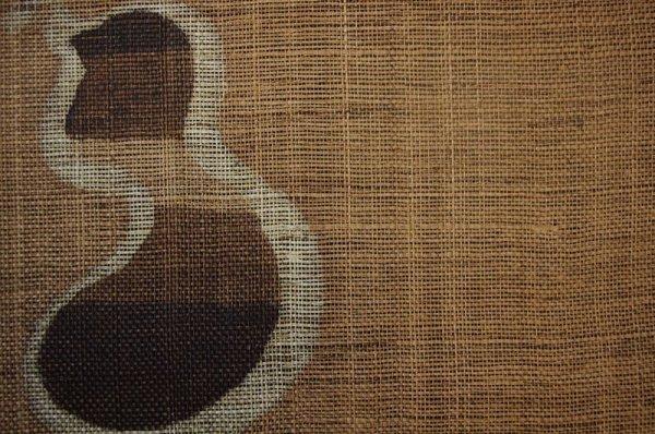 Photo2: Noren Mitsuru Japanese linen door curtain Kakishibu hyotan gourd 88 x 150cm