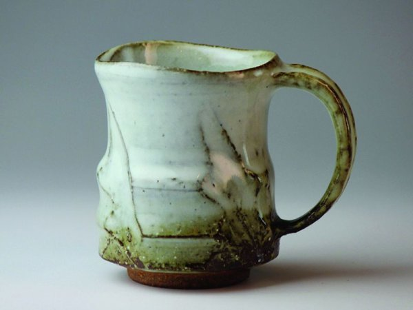 Photo5:  Mouse over image to zoom Hagi yaki ware Japanese pottery mug coffee cup Kashun Mukuhara 300ml