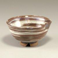 Hagi Senryuzan climbing kiln Japanese pottery sake cup neri hira H3.5cm set of 2