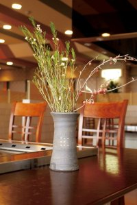 Shigaraki pottery Japanese vase tanka gonomi H19.5cm