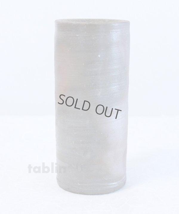 Photo2: Bizen yaki ware High Quality Japanese vase traditional tutubana H18cm