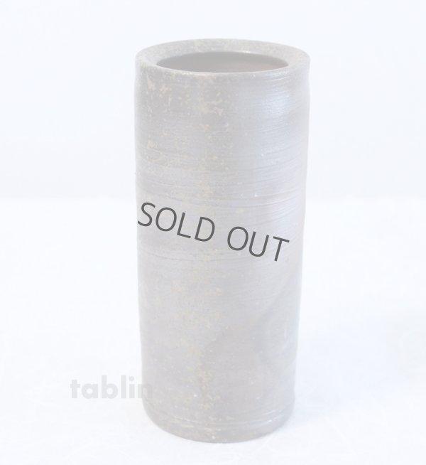 Photo3: Bizen yaki ware High Quality Japanese vase traditional tutubana H18cm