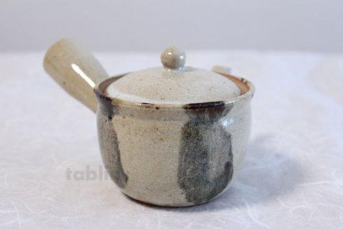 Other Images3: Shigaraki Japanese tea pot kyusu sode pottery tea strainer 230ml
