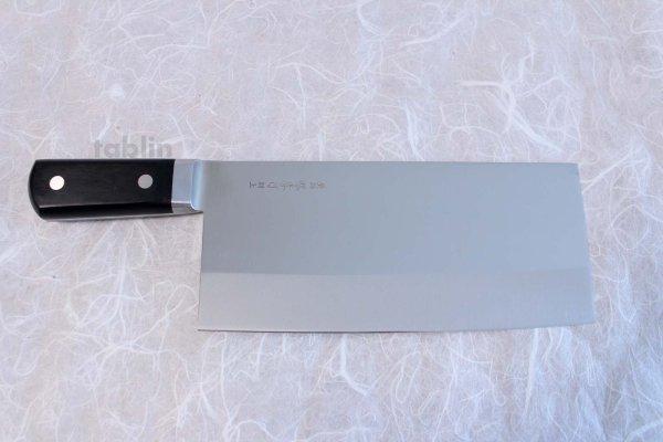 Photo1: SAKAI TAKAYUKI CHINESE CLEAVER KNIFE N08 INOX Special stainless steel
