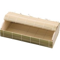 Japanese Bento Lunch Box Serving Plate tray Natural wood bamboo size:L set of 5