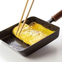 Japanese Tamagoyaki Omelette Egg Frying Pan wooden handle Wahei made in Japan