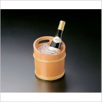 Japanese Natural wooden cypress hinoki Wine / Champagne Cooler / Bucket
