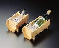Japanese Natural wooden Wine / Champagne Cooler / Bucket