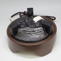 Electric charcoal heater  Japanese tea ceremony Gotoku cast iron for Ro D250mm [L]