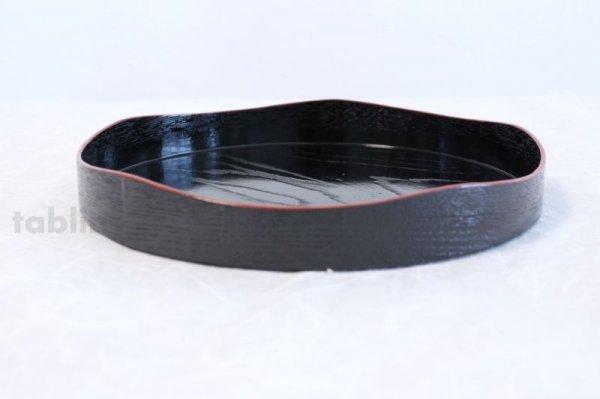 Photo2: Japanese tea ceremony Yamamichi-bon lacquered wood tray