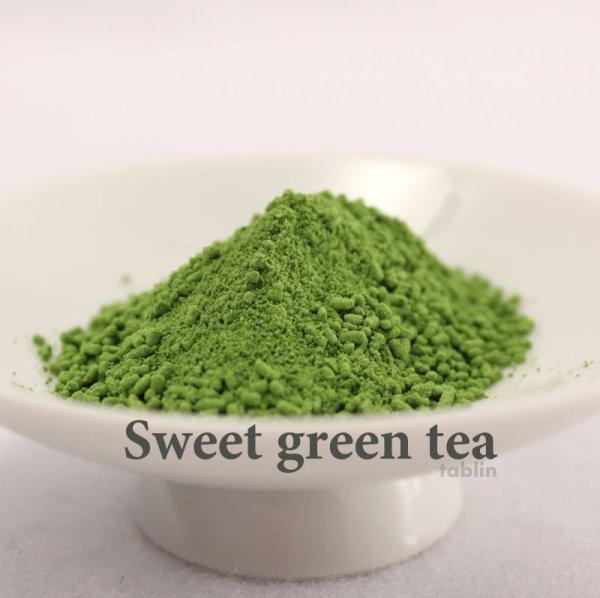 Photo1: Japanese sweet green tea blend with matcha Obarashunkoen 140g