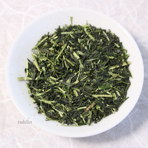 Photo2: Gyokuro Karigane High class Japanese green tea in Yame Fukuoka 100g