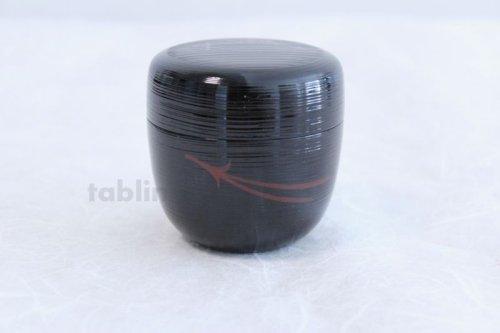 Other Images1: Tea Caddy Japanese Natsume Echizen Urushi lacquer Matcha container hakeme matuba