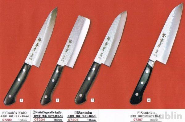 Photo1: SAKAI TAKAYUKI Aogami warikomi Blue2 steel hammered any type