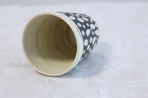 Other Images1: Tokoname Japanese pottery mug cup black Kenji kiln H10.5cm