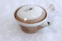 Shigaraki pottery Japanese tea pot kyusu Usugesho pottery tea strainer 500ml