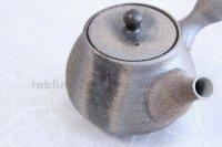 Shigaraki pottery Japanese tea pot kyusu Ibushi pottery tea strainer 550ml