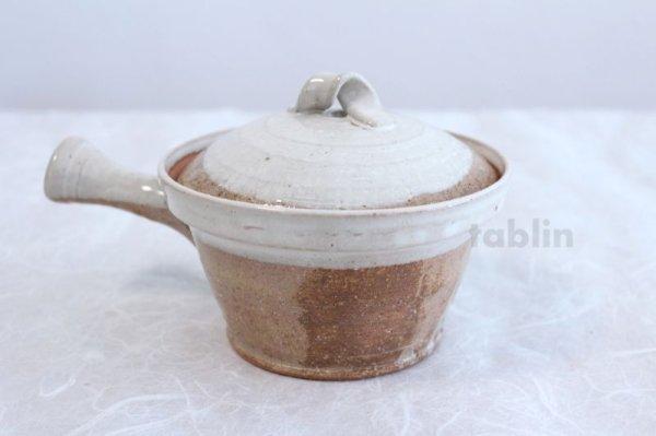 Photo3: Shigaraki pottery Japanese tea pot kyusu Usugesho pottery tea strainer 500ml