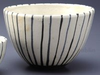 Shigaraki pottery Japanese soup noodle serving bowl modan togusa D160mm