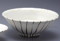Shigaraki pottery Japanese soup noodle serving bowl modan togusa hira D215mm