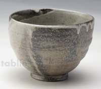 Shigaraki pottery Japanese soup noodle serving bowl yuraku cha D125mm
