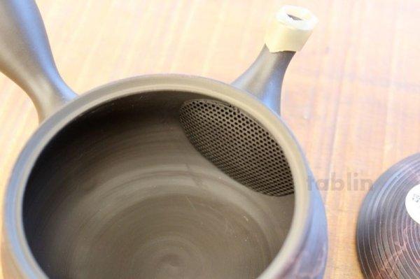 Photo3: Tokoname YT ware Japanese tea pot Gyokko ceramic tea strainer yohen syudei 300ml