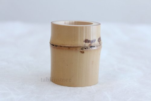 Other Images1: Japanese Bamboo Futaoki for tea ceremony Yasaburo Suikaen Furo and Ro set of 2