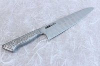Glestain all stainless Japanese knife dimple blade Gyuto chef any size