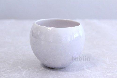 Other Images1: Kiyomizu Kyoto porcelain Hana-crystal Toua Japanese tea cup (set of 5)