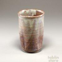 Hagi Senryuzan climbing kiln Japanese pottery tumbler yohen kubomi set of 2