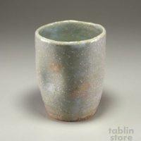 Hagi Senryuzan climbing kiln Japanese pottery tumbler ekubo ni sho set of 2