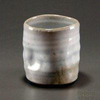 Hagi Senryuzan climbing kiln Japanese pottery tumbler shochu ichi set of 2